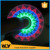 Newest LED finger spinner LED colorful pattern fidget spinner LED massage hand spinner