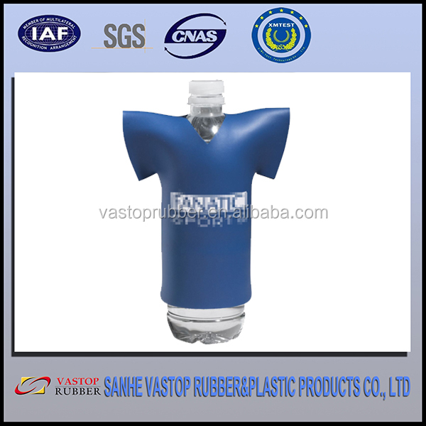 Buckets, Coolers & Holders Type and Eco-Friendly Feature T-shirt design neoprene bottle cooler 12v