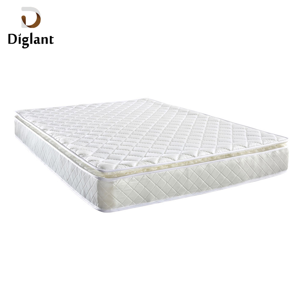 DM052 Diglant Gel Memory Latest Double Fabric Foldable King Size Bed Pocket bedroom furniture used hospital bed mattress - Jozy Mattress | Jozy.net