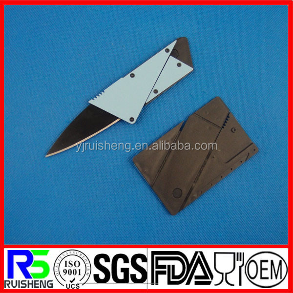 High Quality Outdoor Camping survival Multi Tool credit card knife