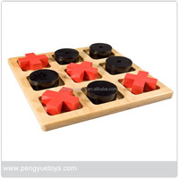 tic tac toe wooden board game,XO game,tic tac toe game pieces
