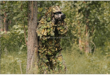 Camouflage Military Tactical Clothing Maple Leaf Blind Jungle Sniper Ghillie Suit for Bird Watch for Hunting