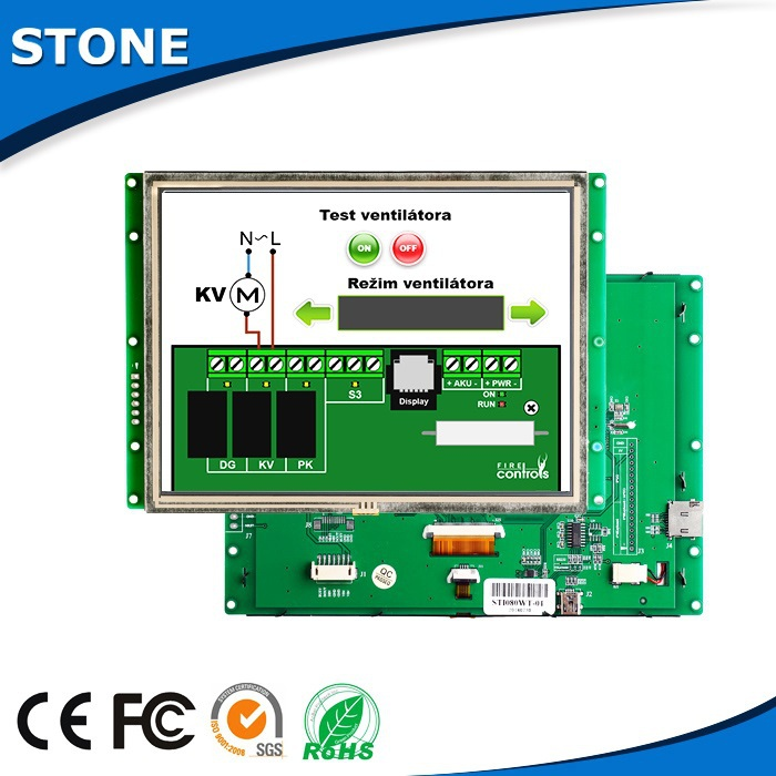 Industrial 3.5 inch tft lcd module for plasma Cutting Machine