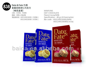 838 Oat Chocolate with almond