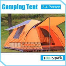 TOOTS Ripstop 3-4 Person Family Travelling Sleeping Tent