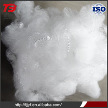 Polyester fiber waste for wholesale and solid non-siliconized polyester fiber 6D