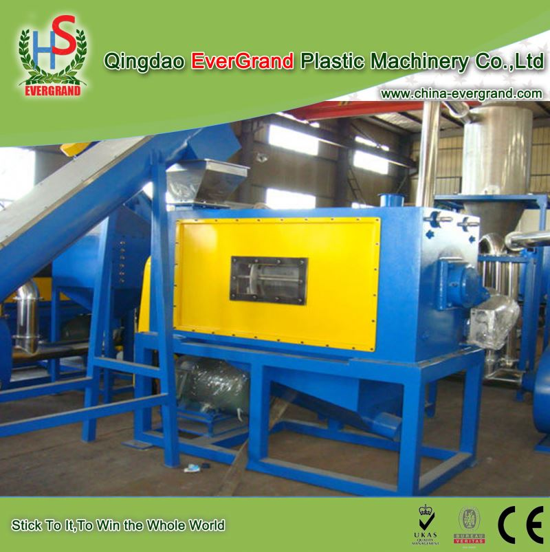 Pe film recycling line crushing and washing recycling machine