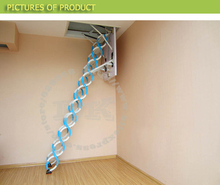super ladder manual and automatic type loft ladders made in China