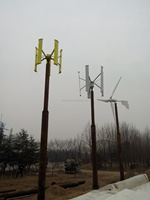 low prices 3KW Vertical Axis Wind Turbines Power Generators for home use