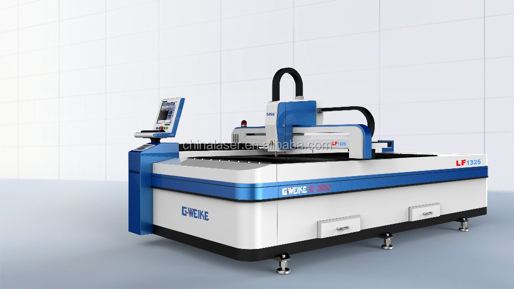 High speed <strong>G</strong>.WEIKE 500W IPG laser cutting machine with good price
