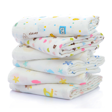 High sales baby muslin wraps cheap wholesale 4 layer comfortable cotton muslin swaddle blanket