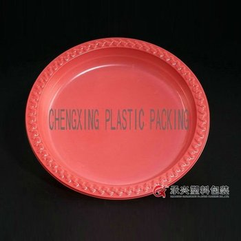 CX-203 round plastic food tray
