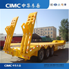 CIMC 3 Axle 60 Ton Low Bed Semitrailer For Sale