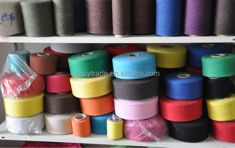 OE blended yarn cheap yarn cotton carded 20\1weaving yarn