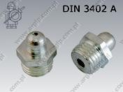 Lubricating nipples ball type, straight version 180 DIN 3402