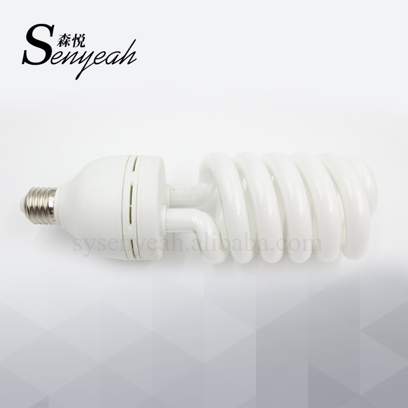 photographic lighting E27 Screw Studio Daylight 125W /5500k Spiral Fluorescent Lighting Lamp Bulb