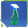 500 ml green trigger spray detergent bottle colored squeeze bottle