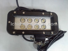 "New generation!!! 6.5"" LED double ROW LIGHT BAR 16W SPOT PATTERN RZR JEEP OFFROAD TRACTOR 1600LM"