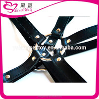 Custom top level sex toys male bondage and sex leather swing for male bondage