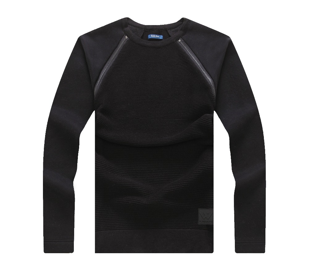 1/4zipper computer knitted style men sweater