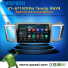 Shenzhen manufacturer Large Screen Android car DVD for Toyota RAV4 pc car touch screen with 3g wifi BT pod SD