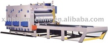 corrugated cardboard machine 3 color flexo ink corrugated paperboard printing grooving machine