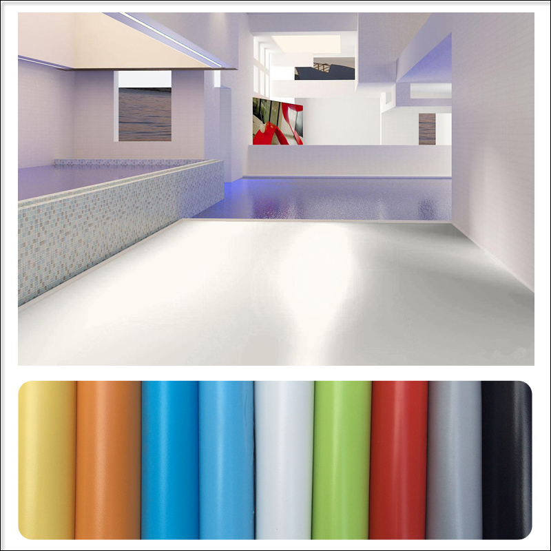 Non-slip Durable Colorful 3D Vinyl Floor Tile In Rolls For Children