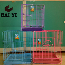 China Metal Folding Dog Crate Plastic For Sale(Direct Factory, metal wire dog cage)