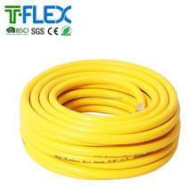 plastic pvc air hose flexible pvc spray hose with brass fitting