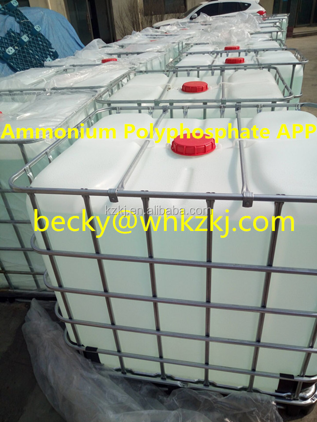 APP Liquid Fertilizer Ammonium Polyphosphate Solution