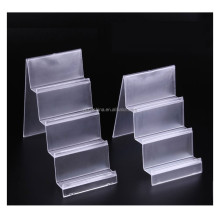 2015 customized acrylic wallet display stand,mask display shelf
