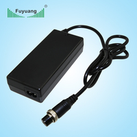 Fuyuang 18v 4a electric scooter battery charger with KC