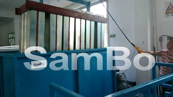Without brine water Direct Evaporated block ice machine 6000kg/day SAMBO ZB6T