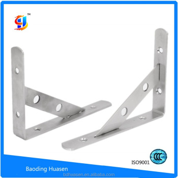 ODM/OEM China Factory painting L shaped shelf bracket with good quality