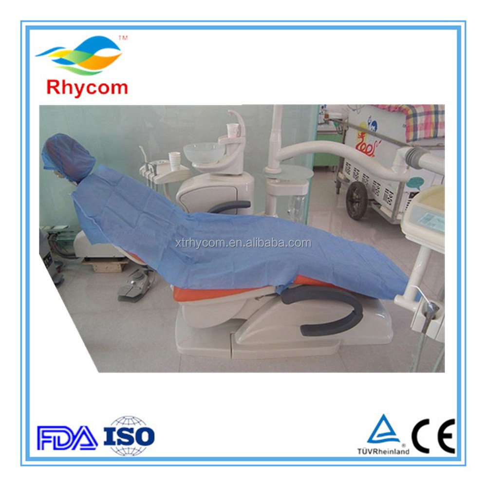 New product in China dental clinic disposable non woven dental chair cover