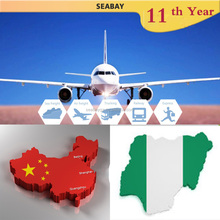 Best price Air cargo freight forwarding company shipping agent service cost rate China to Nigeria