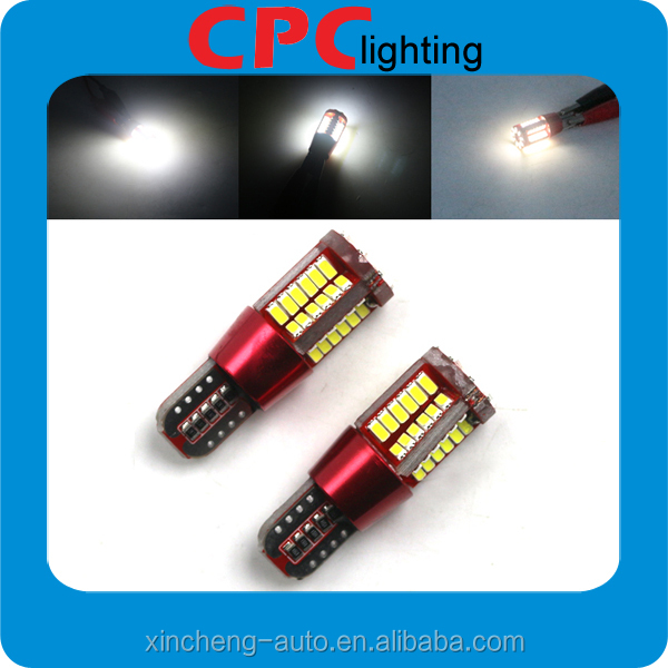 Hot new products for import canbus t10 5w5 canbus car led auto bulb readling light for car