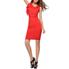 Wholesale Fashion Sexy Sleeveless Red Maxi Pencil Skirt