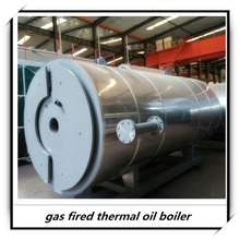 YQW gas oil fired heating oil boilers for pitch mixing plant