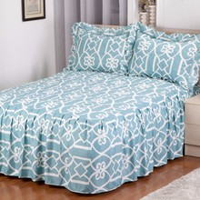 Microfiber Quilt Top Printed Chinese Bedspread With 2 Shams Wholesale