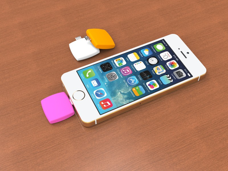 Emergency 1000 mAH mobile charger disposable power bank for cell phone