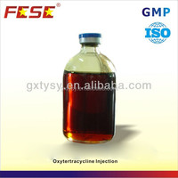 Animal widely using GMP oxytetracycline injection 100ml