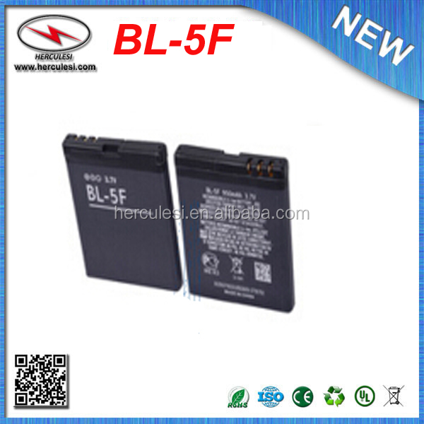 Replacement Battery for Nokia BL-5F BL5F E65 N78 N79 N93i N95 8GB N96