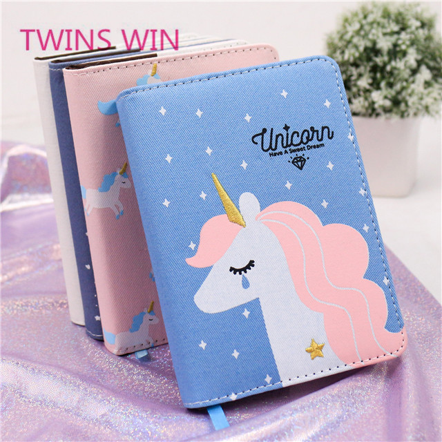 Best seller Europe 2019 new products stationery wholesale unicorn printing hardcover paper planners and notebooks 660