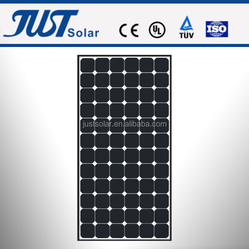 120~160W poly solar panel, pv cells