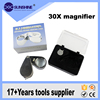 Water drop shape 30x led working magnifier