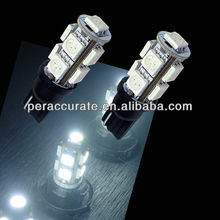 Auto LED Bulb T10 9 SMD 5050 Car LED Day Running Light PA