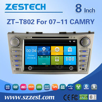 car dvd player with touch screen For TOYOTA 2007-2011 CAMRY support Radio/Audio/GPS/DVD/RDS/Bluetooth/MP4 player/HDMI