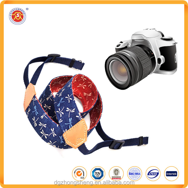 2016 wholesale adjustable custom camera straps durable camera neck straps for canon camera
