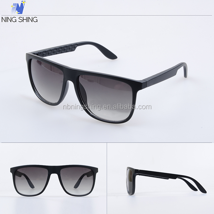 Latest Trendy Spectacles Frame Black Unisex Fashion CE Designer Sunglass